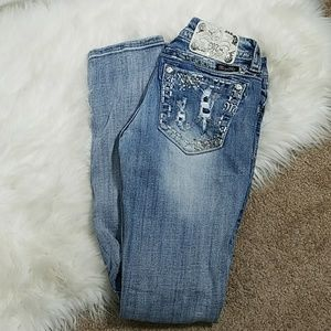 Miss me classic straight size 27